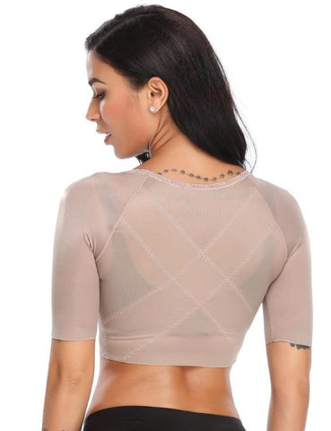 Posture Corrector Crop Top Arm Shapers