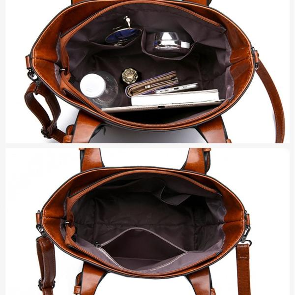 Vintage Female Shoulder Bag Removable Strap
