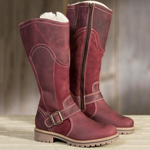 Winter Waterproof Mid-calf Warm Boots