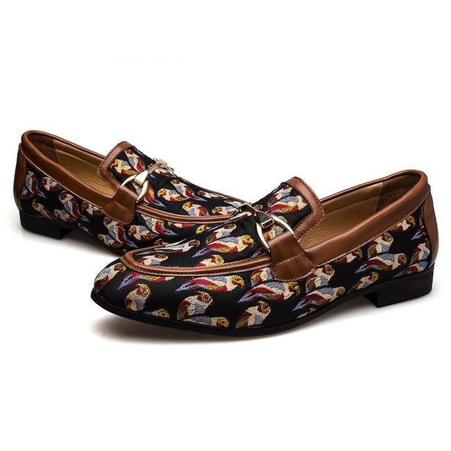 Fashion Comfortable Casual Loafers Banquet Shoes