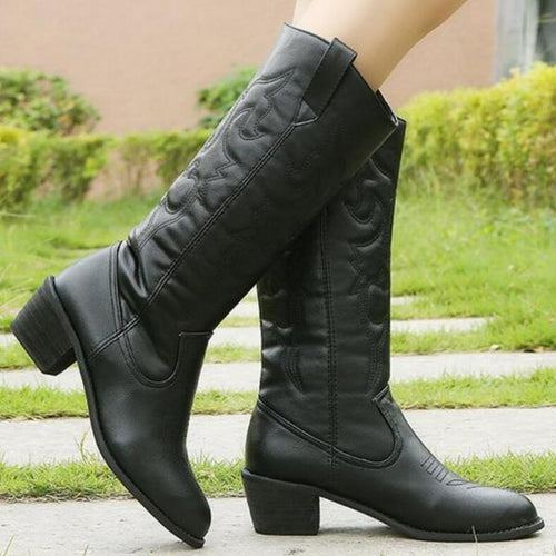Loosesize Solid Color Boot