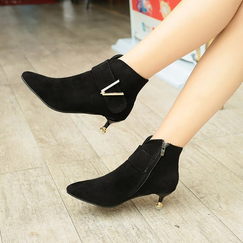 Short Cylinder Chelsea Ankle Boots Scrub