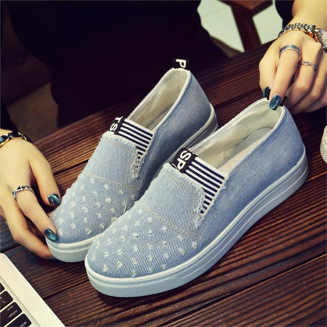 Women Fashion Casual  Classic Soft Flats