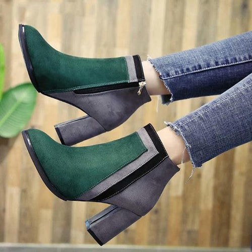 Loosesize Women Bootie Mixed Color