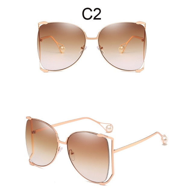 Fashion Oversized Sunglasses For Women