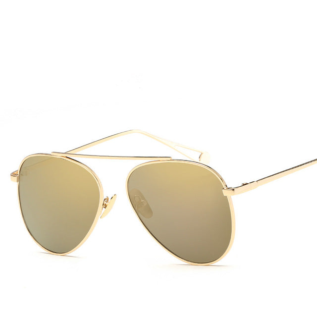 Women's  Fashion Hue Vintage Retro Pilot  Sunglass