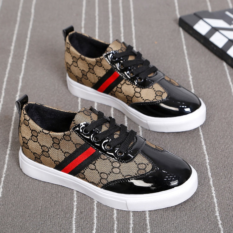 Fashion Comfortable Lace-up Women Sneakers