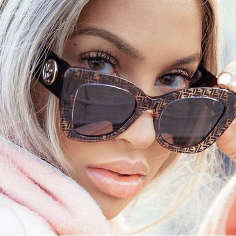 Fashion Retro Round Women Sunglasses