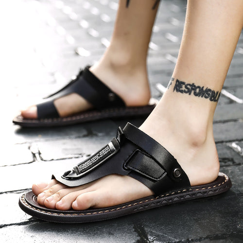 Outdoor Big Size Leather Sandals