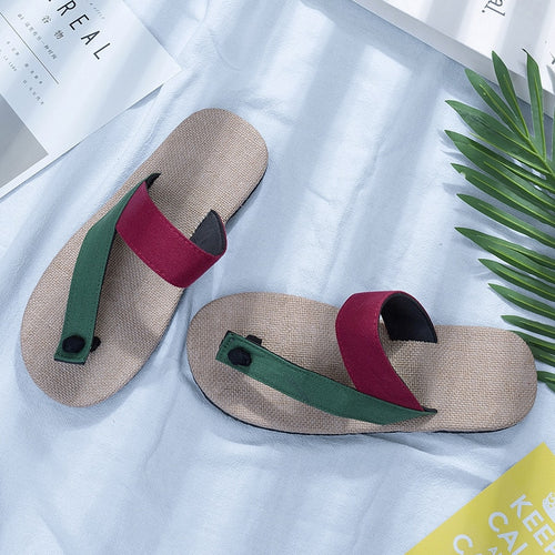 Thick Soled Beach Fashion Flip Flops For Men