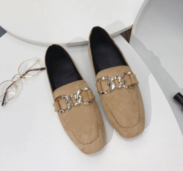 Fashion  Women Round Head Casual Shoes