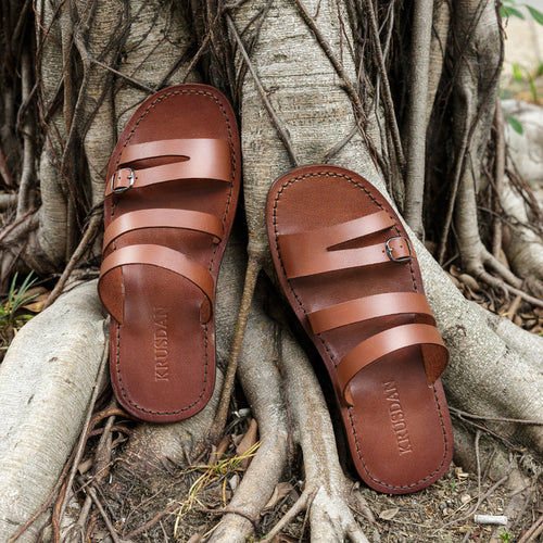 Fashion Metal Buckle Non-slip Sandals