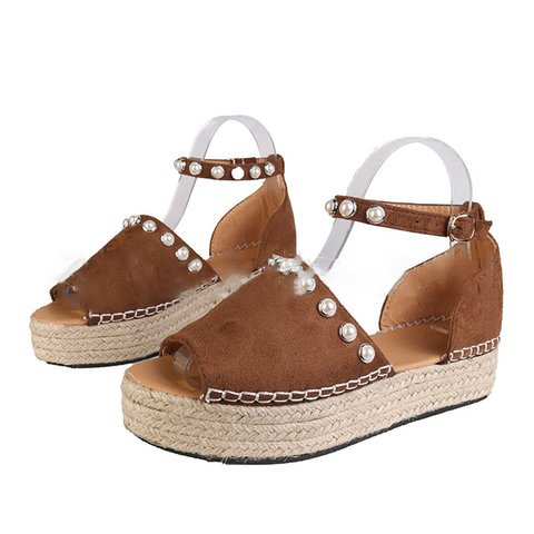 Women Summer Beach round toe Sandals