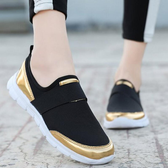 Ladies Flats Slip on Casual Shoes