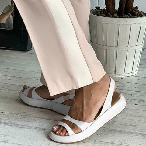 Women  Slip On Casual PU Lazy Shoes