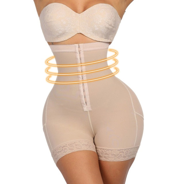 Plus Size Tummy Control Slimming Waist Trainer Butt lifter