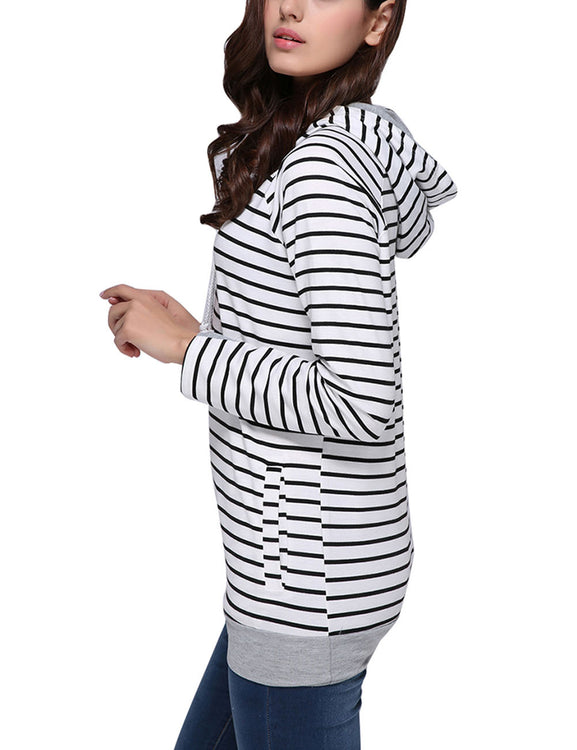Remarkable Double Hood Sweatshirt Comfort Women