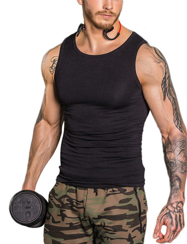 Streamlining Neoprene Men Body Shaper Delightful Garment