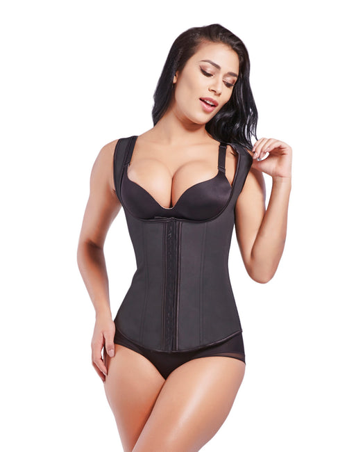 Smoother U Style Latex Waist Trainer 9 Steel Bones Super Faddish