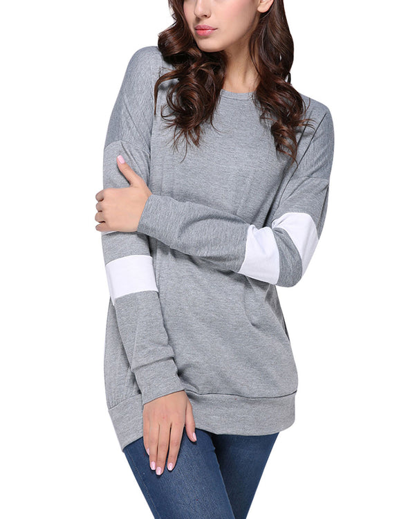 Sophisticated Characteristic Round Neck Winter T-Shirt Ultra Hot