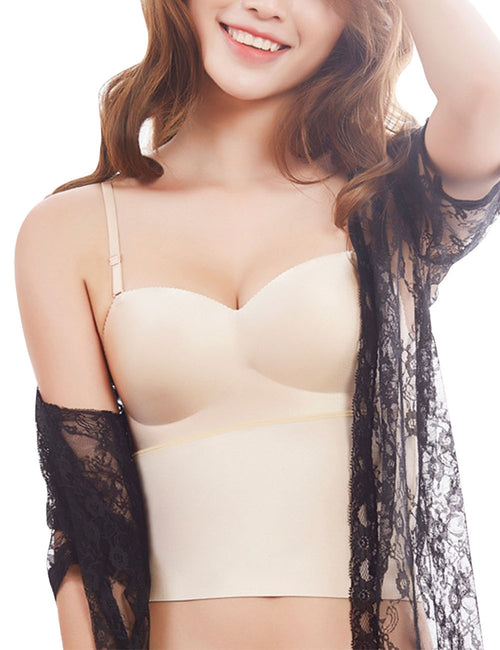 Sumptuous Shape Back Bra Removable Shoulder Straps Cool Fashion