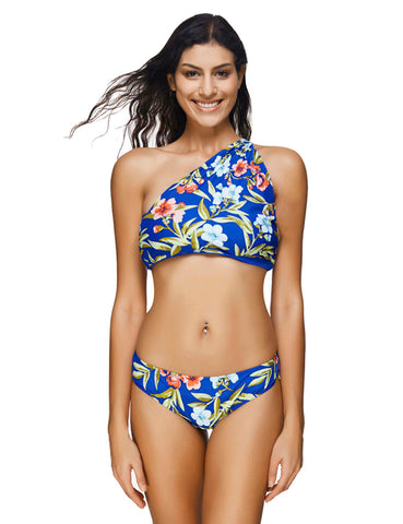 Surfing Hollow Out Swimwear Halter Poolside Party