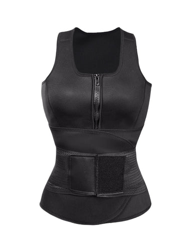 Two-Timing Active Body Shapers Undergarments Vest Distinctive Look