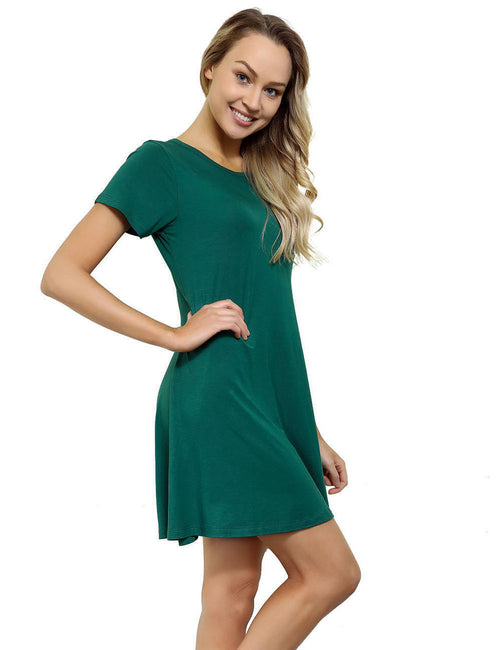 Well-Suited Natural Waist Bamboo Short Dresses Outfits