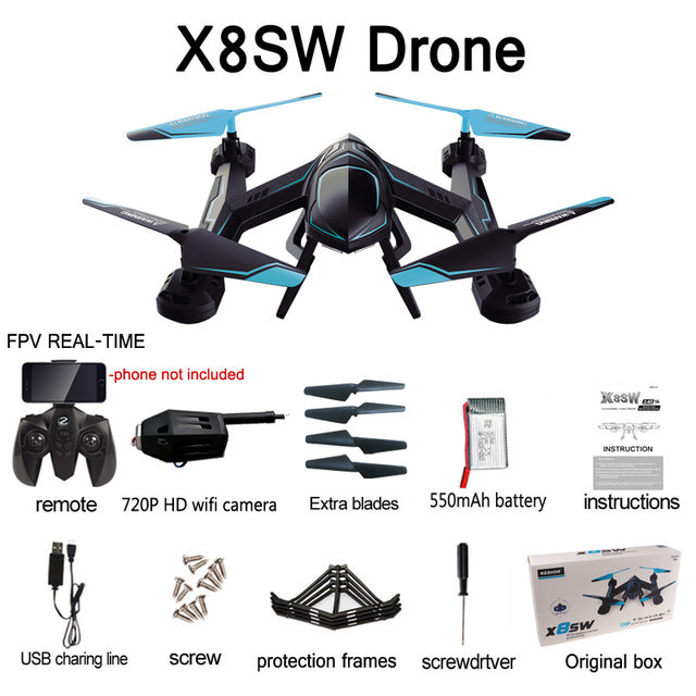 X8SW Quadcopter RC Camera Drone