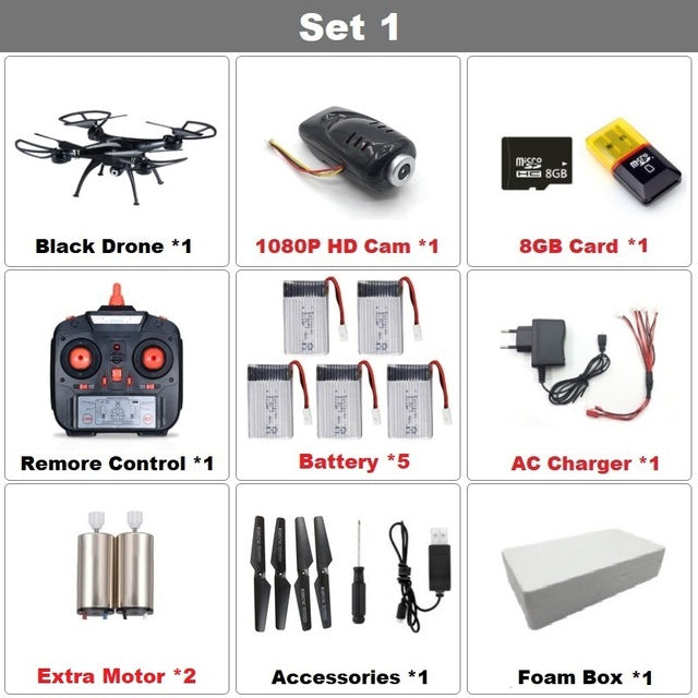 RC Drone 1080P HD Camera Quadcopter