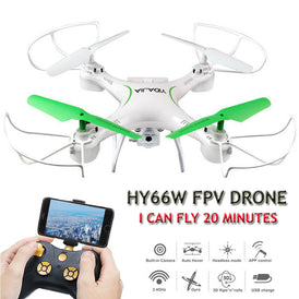 HY66W Drone RC Camera HD Quadcopter