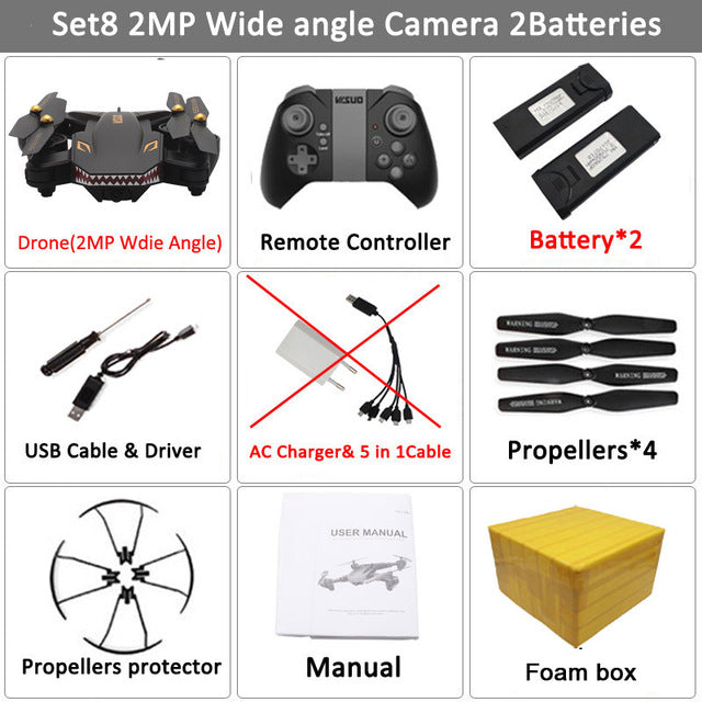 RC Foldable Drone HD Camera