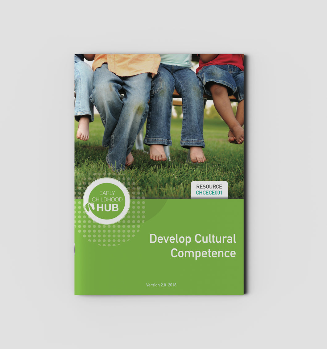 Develop Cultural Competence