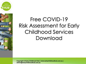 COVID-19 Risk Assessment for Early Childhood Services