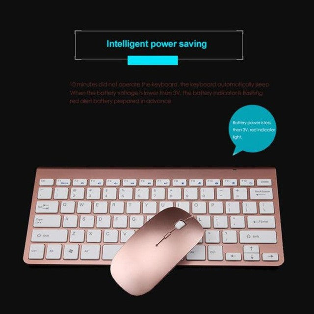 Accessories Wireless Gaming Keyboard and  Gaming Mouse