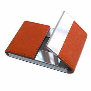 Xiniu  Business Mens Card Holder Credit Card Package Double Open Card Case For men