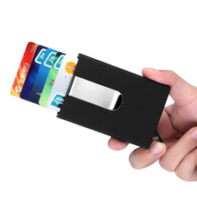 Xiniu Card Holder Mens Bank Credit Card Package omen Business Card Case Box