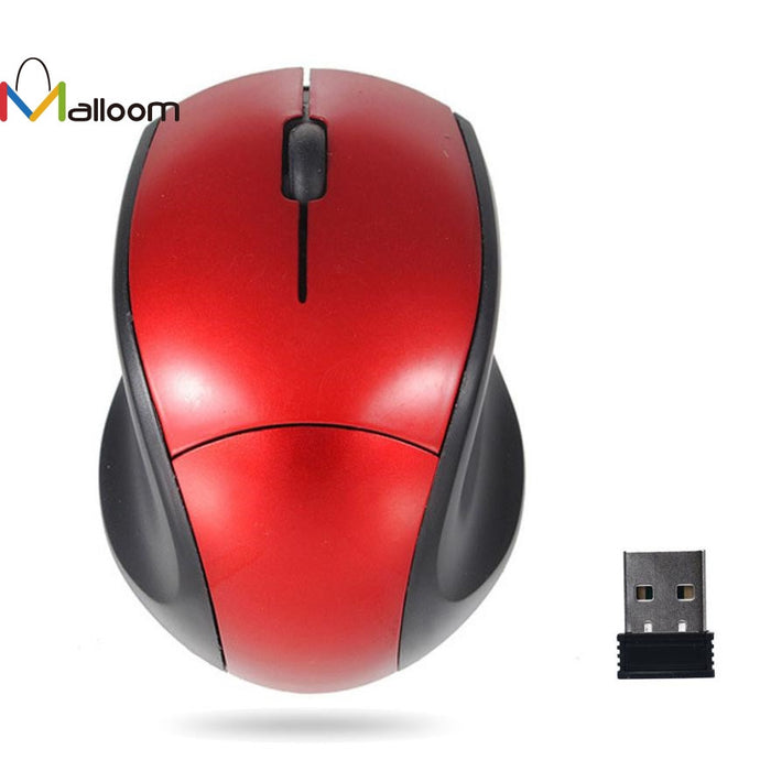 Malloom 2.4GHz Mice Optical Mouse Cordless USB Receiver PC Computer Wireless for Laptop Gaming Mouse For CS High-End Player#201