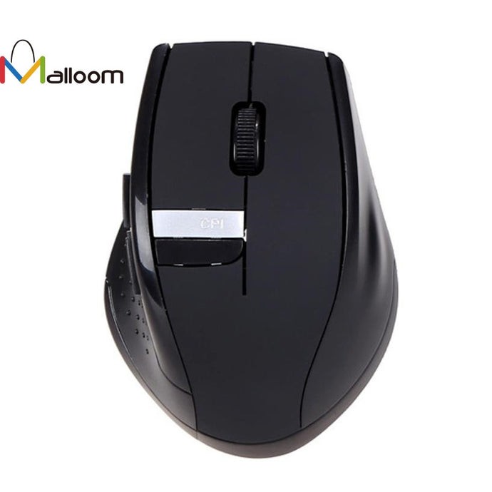 Malloom 2017 Gaming Mouse 6D/2.4GHz Rechargeable Wireless Mice Mouse Game Cordless USB Receiver for PC Computer