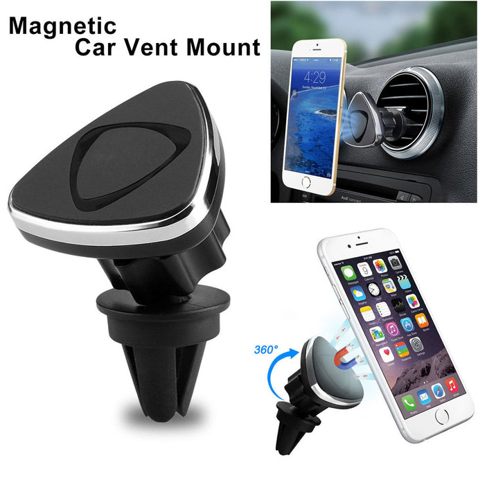 Universal Car Phone Holder 360 Degree Car Mount Sticky Magnetic Stand Holder For Cell Phone GPS Holder For Your Mobile Phone2017