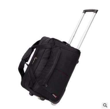 Waterproof Travel Trolley bag Nylon Cabin Travel Luggage Trolley Bag luggage suitcase Travel bags on wheel wheeled Rolling Bags