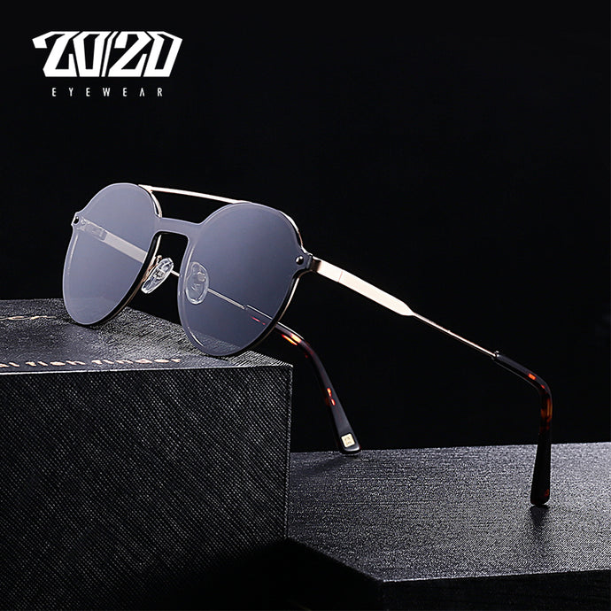 20/20 Brand Unisex Retro Sunglasses