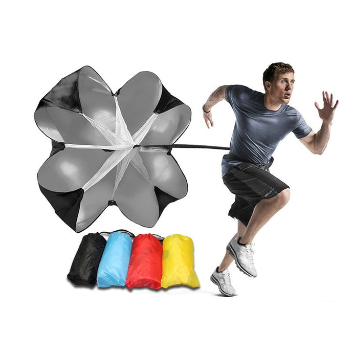 Strength Training Football Training Tools Parachute Umbrellas Super Soccer Resistance Umbrella Exercise Increase Speed Equipment