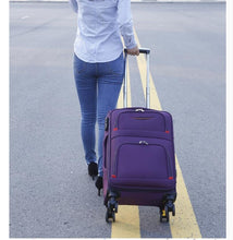 Travel  Rolling Luggage Bag On Wheel Business Travel Luggage Suitcase Oxford Spinner suitcase Wheeled trolley bags for men