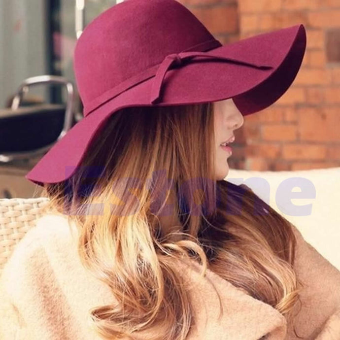 Floppy Sun Hat Wide Brim - Cloche Cap