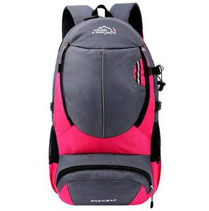 RUIPAI Men's Backpack Women Bag Mountaineering Polyester pack Multi-function Waterproof School bags for teenage Boys Girls