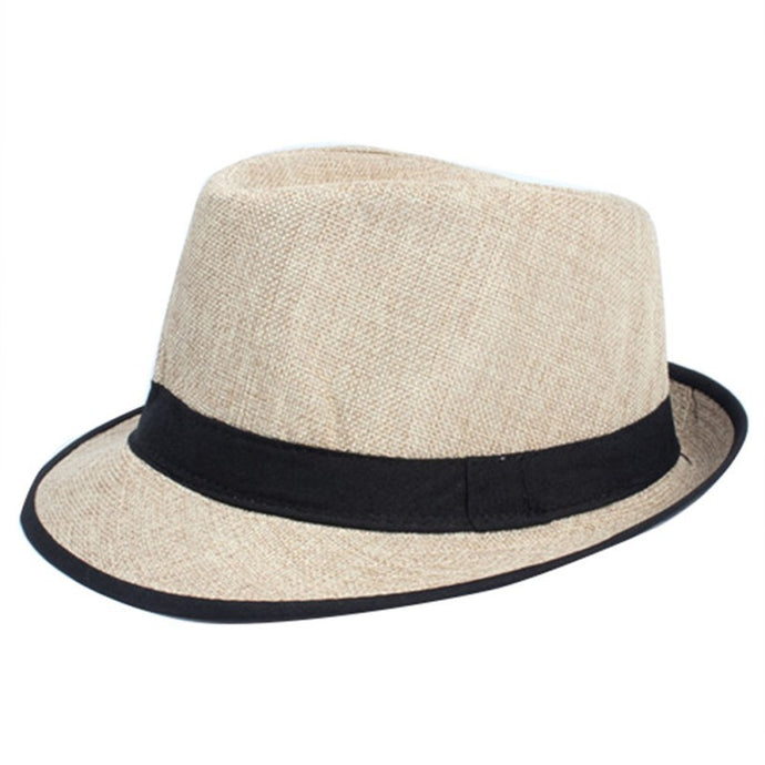 Factory Price, Men Women Unisex Summer Beach Top Hat Sun Jazz Gangster Cap