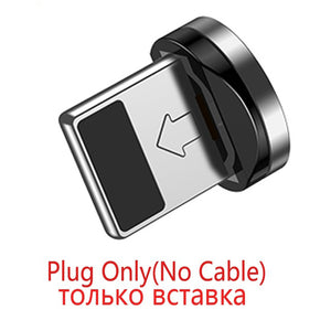 FLOVEME 1M Magnetic USB Cable for iPhone Charger ( L-Type) Magnet Micro USB Type C Cable for Samsung Galaxy S9 plus Charge Wire