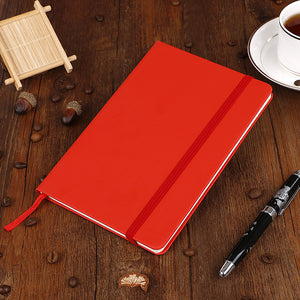A5, A6 Thick Classic Writing Ruled Notebook Journal Hard Cover Banded Premium Paper