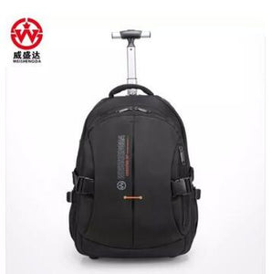 Men wheeled Rolling Backpacks Water proof Travel Luggage Trolley Backpack Women Business luggage suitcase Travel bags on wheels